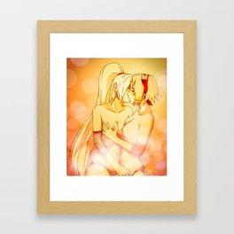 Naruto Ino Yamanaka & Sakura Haruno Framed Art Print