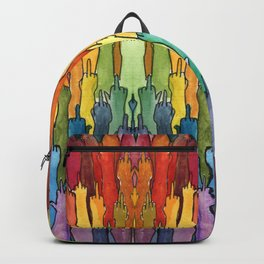 rainbow power Backpack