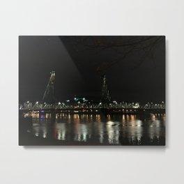 PDX Lights Metal Print