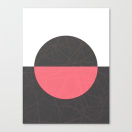 Bloody Lunar Eclipse Canvas Print