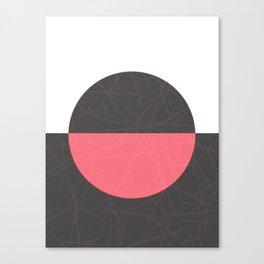 Bloody Lunar Eclipse Canvas Print