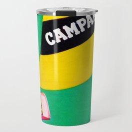 Extremely rare Campari Aperitif 'l aperitivo bullet' Advertisement Print Travel Mug
