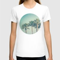 palms T-shirts featuring Palms by Laura Ruth