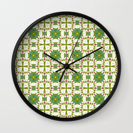 Green Excellence of the Mind Wall Clock