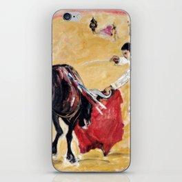Bullfight , Valencia,SPAIN iPhone Skin
