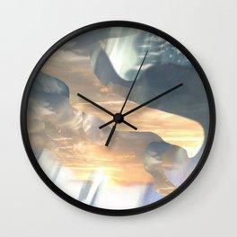 Misty Morning Light Wall Clock