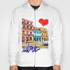 I  love Cuba Hoody