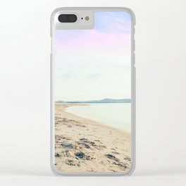 Sand, Sea and Sky - Relaxing Summertime Clear iPhone Case