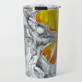 Goat Lord with Tentacles Travel Mug