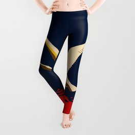 Ambition or trumpeter swan Leggings