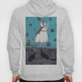 Between the Woods and Frozen Lake Hoody