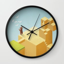 lost thoughts Wall Clock