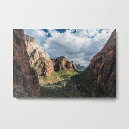 Zion Canyon, Zion National Park Metal Print