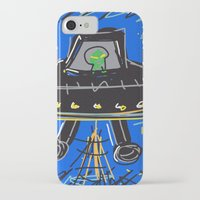 ufo iPhone & iPod Cases featuring Ufo by Rimadi