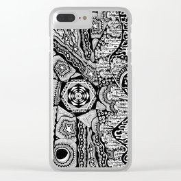 Lost in the Pilliga Clear iPhone Case