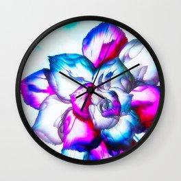 beAutiFully FloWer Wall Clock