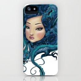 Dragon Girl iPhone Case