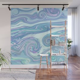 LIGHT BLUE MIX Wall Mural