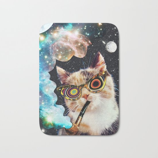 High Cat Bath Mat