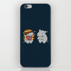 Hippypotamus iPhone & iPod Skin