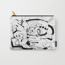 Seduction - b&w Carry-All Pouch