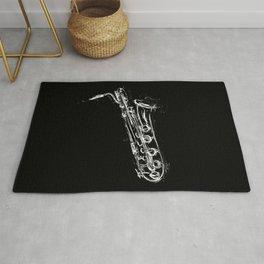 Baritone Saxophone Rug