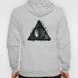 Deathly Hallows - Prongs in the forest with brenches | Marauders - Potterhead - Patronus Hoody