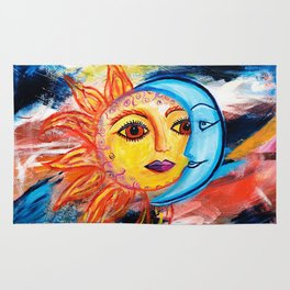 Sun and Moon United Rug