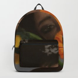 Sunflower Woman Backpack