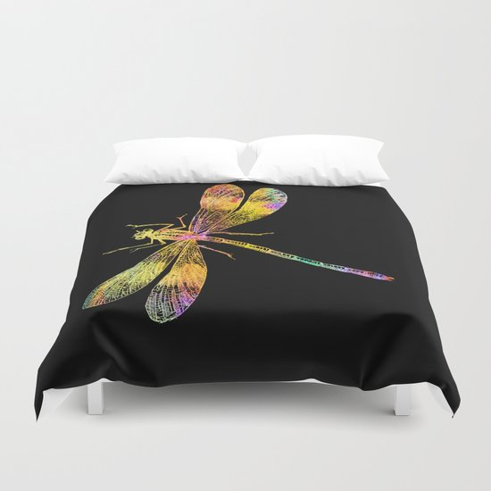 Dragonfly QW Duvet Cover