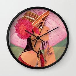 festival fashion Wall Clock