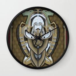 Claddagh Hawk - Celtic Inspired Art Deco Wall Clock