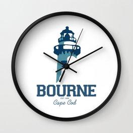 Bourne Cape Cod Wall Clock