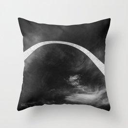 cosmic rebirth Throw Pillow
