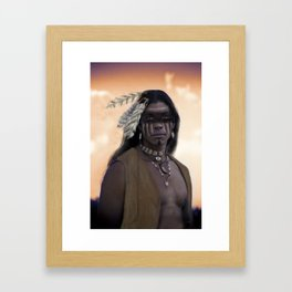 Proud Warrior Framed Art Print