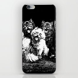 The Pack at Night iPhone Skin