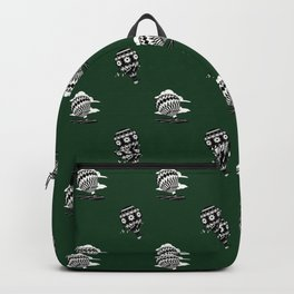 HOT AIR BALLOONS ON GREEN Backpack
