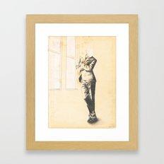Till the Mourning Comes Framed Art Print