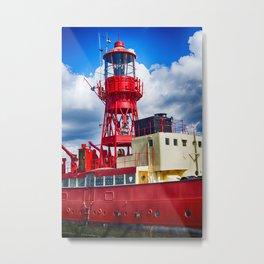 Lightship LV15 Trinity Metal Print