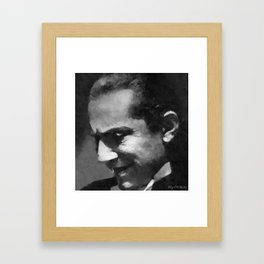 Hollywood - Bela Lugosi Framed Art Print