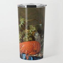 Cornelis De Heem - Still Life With Lobster Travel Mug