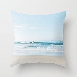 California Surfing II Throw Pillow