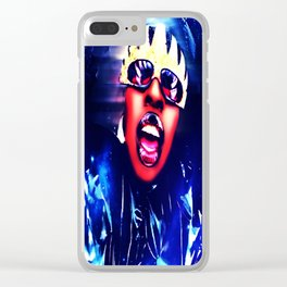 Supa Dupa Fly Clear iPhone Case
