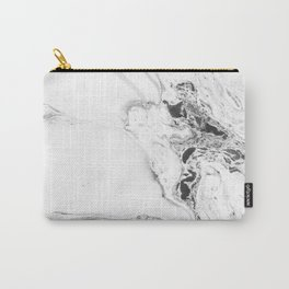 Marble Watercolor Carry-All Pouch