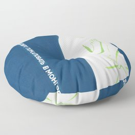 welcome to Mongolia Floor Pillow