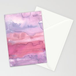 Melting Sunrise #1, Rose Magnifique Stationery Cards