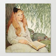 Seven Ages of Childhood by Jessie WIlcox Smith Canvas Print