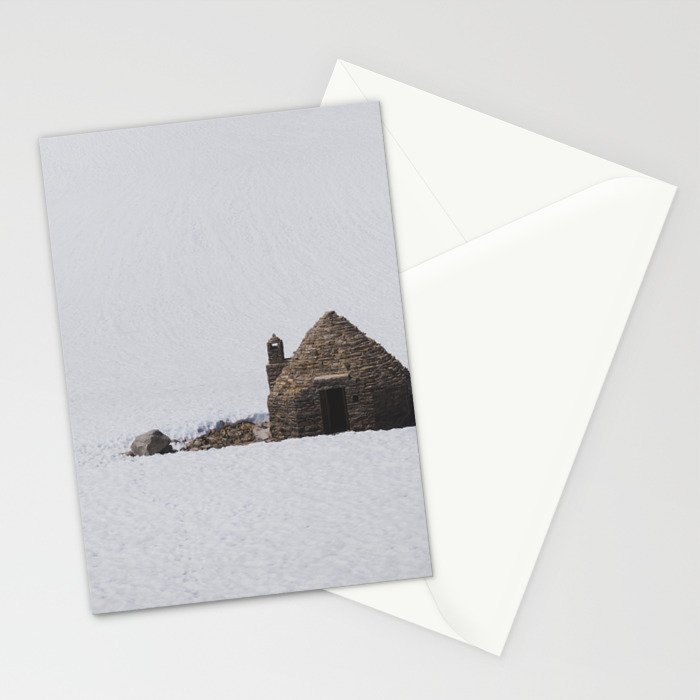 Muir Pass - Pacific Crest Trail, California Stationery Cards