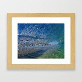 Clear Pitch Framed Art Print