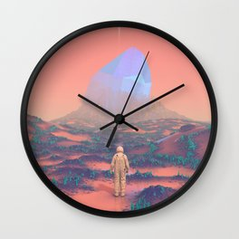 Lost Astronaut Series #02 - Giant Crystal Wall Clock